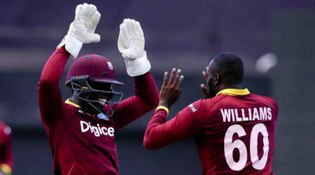 India vs West Indies, Ind vs WI, West Indies over rate, Carlos Brathwaite, Cricket, Indian Express