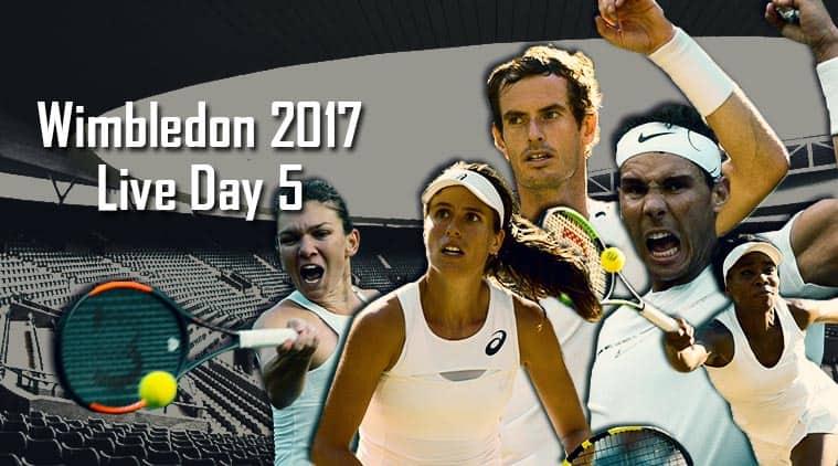 Wimbledon Live Score, Wimbledon 2017, Wimbledon live streaming, andy murray live, rafael nadal Live, venus williams, johanna konta, simona halep, tennis news, sports news, wimbledon news