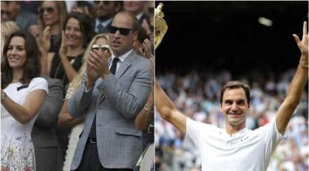 Wimbledon 2017: Celebrities crowd up to watch Roger Federer's historic titlewin