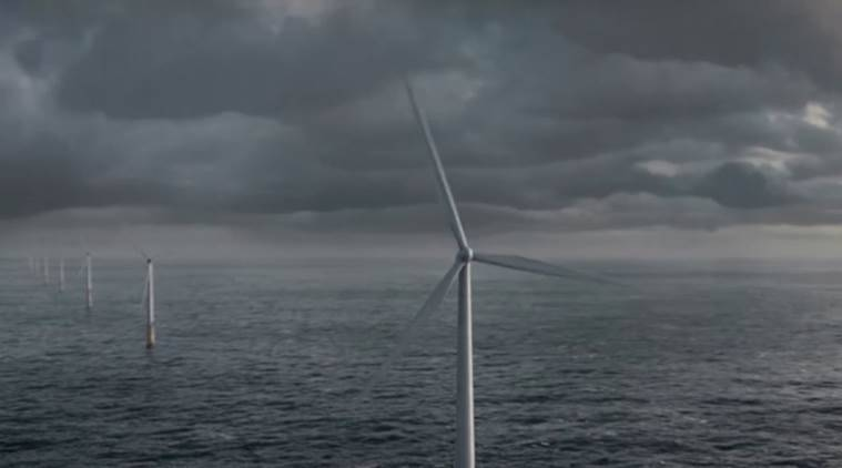 floating wind farm, first floating farm, World's first floating wind farm, Hywind, Statoil, technology, science and technology, Science news
