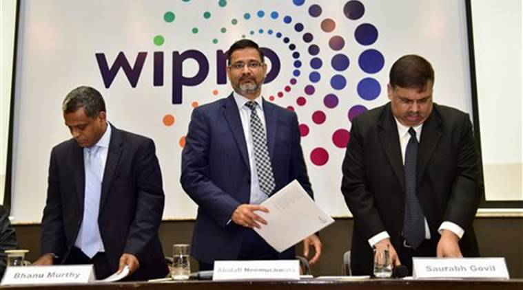 Wipro announces Rs 11K-crore buyback; net falls 8% QoQ - The Indian Express