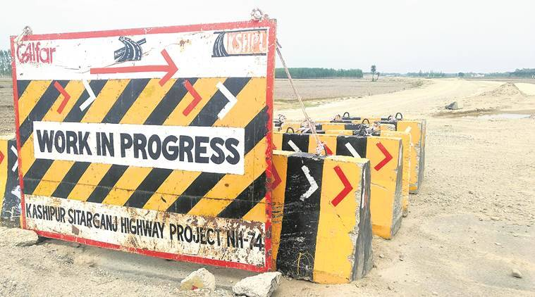 NH 74, NH 74 projects, land deal national highway, corruption, Kunda police station, Uttarakhand news, Indian expres, India news, Latest news