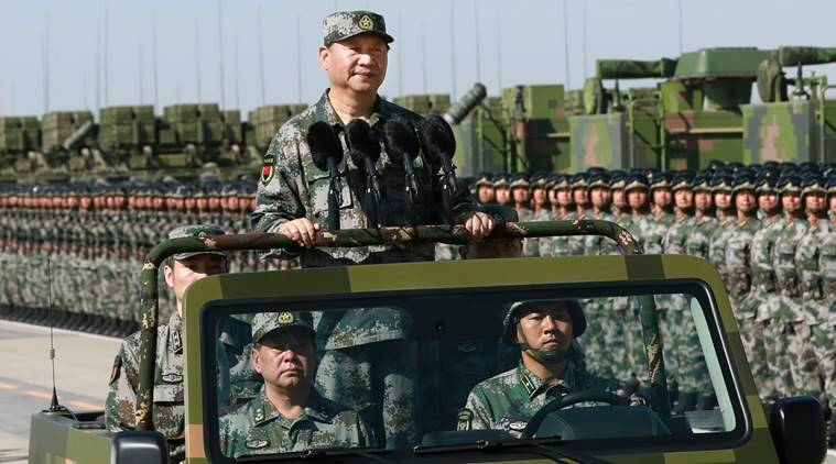 Image result for Xi has a massive and well-organized domestic security force — and he can still count on the People's Liberation Army.