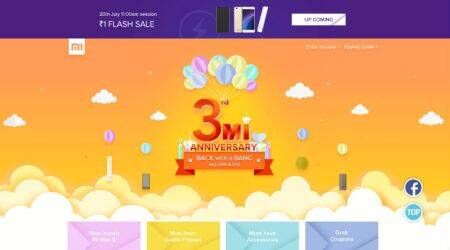 Xiaomi's third Mi anniversary celebrations in India: Redmi 4A at Re 1, and other deals