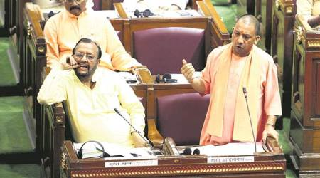To empty Opposition seats, CM Yogi Adityanath says: Our four months saw no riots