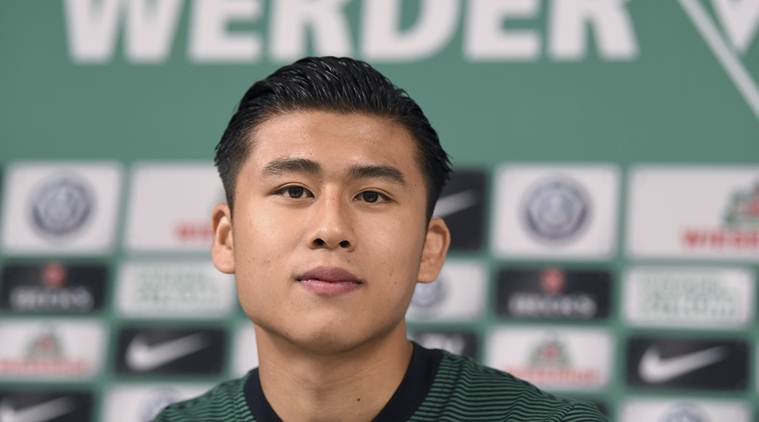 Zhang Yuning, Zhang Yuning China, Bundesliga, West Bromich Albion, football news, sports news, indian express