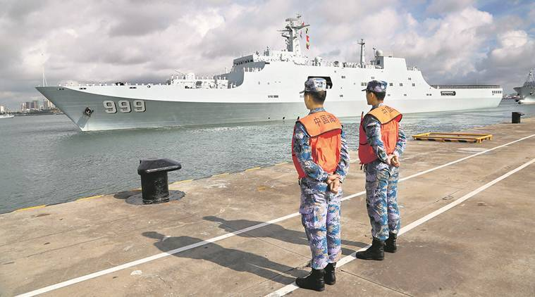 China sends military personnel to base in Djibouti