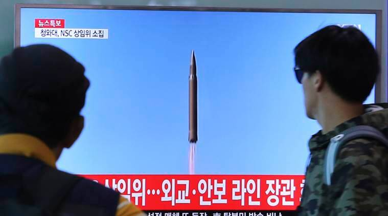 North Korea Missile Launch, japan attack, North Korea Japan conflict, US North Korea Conflict, World News, Indian Express