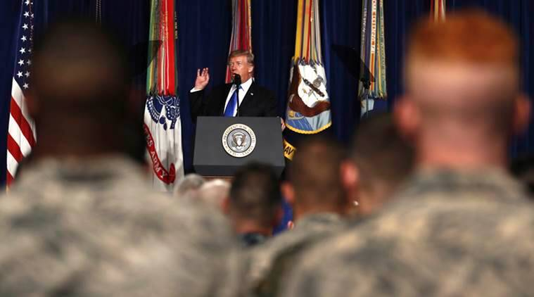 donald trump, us afghan policy, afghanistan policy, Trump afghanistan policy, pakistan, india, pakistan terro0rism, India us ties, india afghanistan ties, White house, world news, indian express, latest news