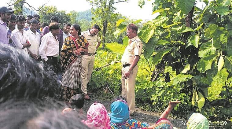 forest dept, nh7, national highway, forest dept custody death, nagpur district, indian express