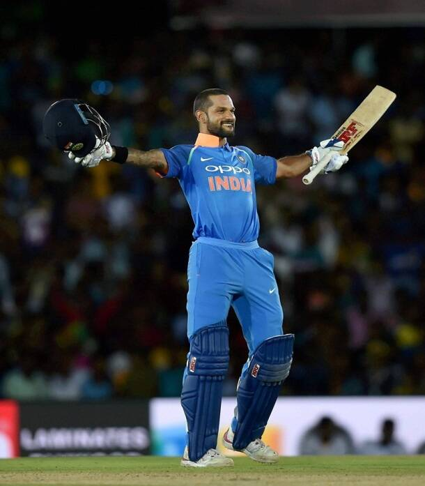 India vs Sri Lanka, Shikhar Dhawan, Virat Kohli, Axar Patel, sports gallery, cricket, Indian Express