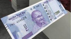 200 note, demonetised note, demonetisation, new 2000 note, indian express news