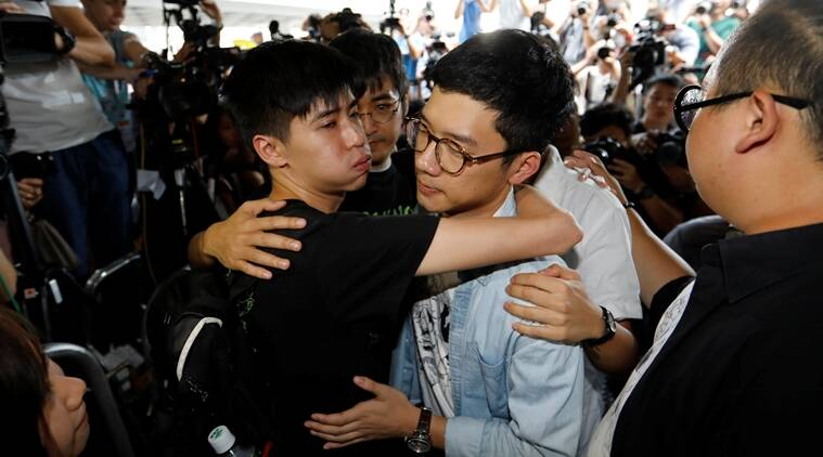 Hong Kong democracy campaigners jailed over anti-China protests