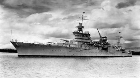 USS Indianapolis, US Navy, World War II, Pearl harbour, lost at sea, World news, Indian Express
