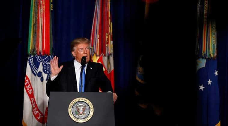 Donald Trump, donald Trump Afghanistan policy, US-Afghanistan, Afghan taliban, Pakistan, India, indian express