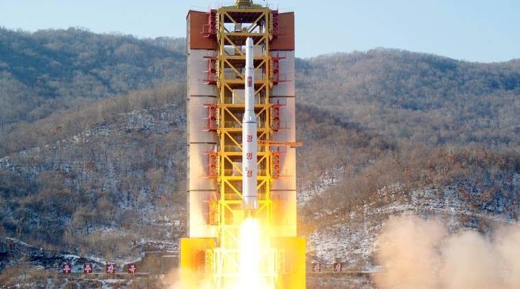North Korea, North Korea missile test, Missiles, Kim Jong Un, Donald Trump, Korea US conflcit, Koreans, North Korea South Korea, World News, Indian Express