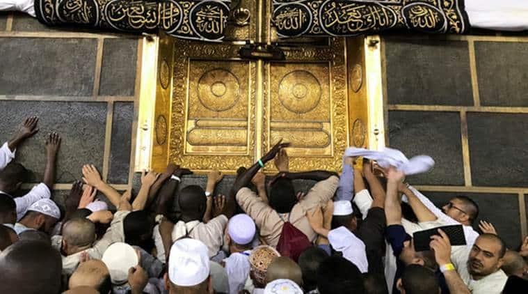 Hajj pilgrimage, Mecca, Muslim pilgrimage, Hajj India, Mecca Madina, Saudi Arabia, World News, Indian Express