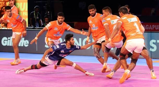 Pro Kabaddi season 5, PKL 5, Bengaluru Bulls, Puneri Paltan, Dabang Delhi, Tamil Thalaivas, sports gallery, Indian Express