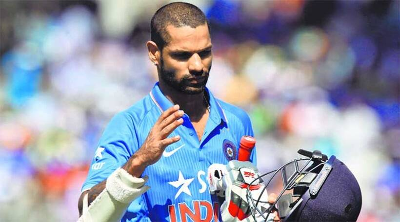 Shikhar Dhawan has been selected as one of the openers for India