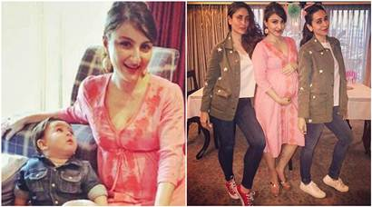 Tamiur Ali Khan was the cynosure of all eyes at Soha Ali Khan's baby shower