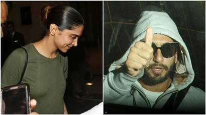Deepika Padukone and Ranveer Singh are equal parts work and fun, here's proof