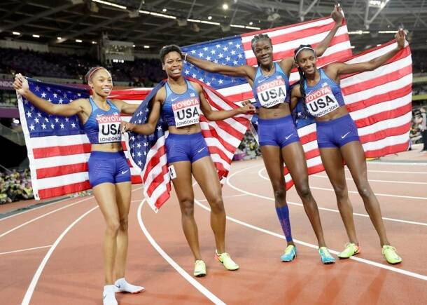 World Championships: Gold medal winners from final day
