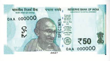 new 50 rupees notes, rbi 50 rupees notes, new currency, 50 rs currency, 50 rs denomination, mahatma gandhi, india news,