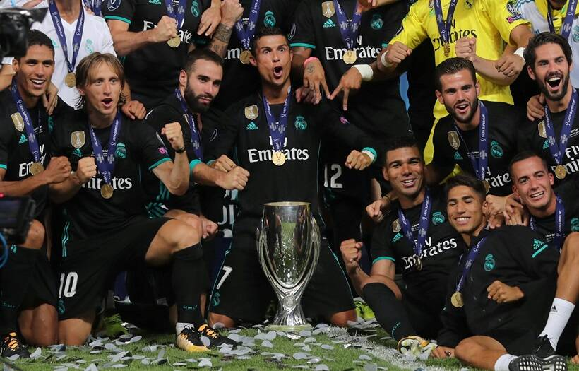 real madrid vs manchester united, real madrid, manchester united, super cup, zinedine zidane, football, indian express