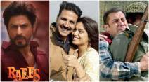 bollywood box office report, 2017 hit movies, toilet ek prem katha, raees, tubelight