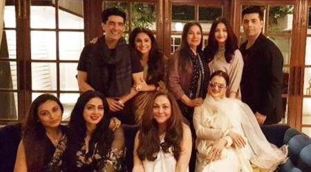 Sridevi's birthday bash: Vidya Balan, Aishwarya Rai, Rani Mukerji and Rekha come together in one frame