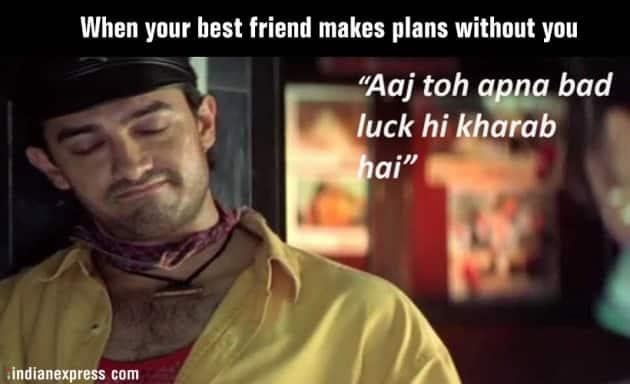 friendship day, friendship day 2019, friendship day bollywood memes, friendship day best memes, friendship day best wishes, friendship day best wishes, friendship day best messages, indian express, indian express news