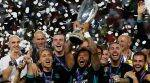 WATCH: Real Madrid celebrate with the Super Cup trophy in dressingroom