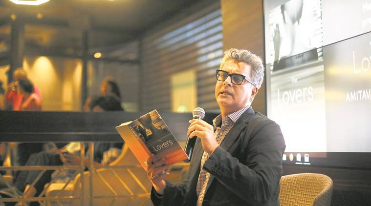 Amitava Kumar, Amitava Kumar the lovers, the lovers book launch, indian express news