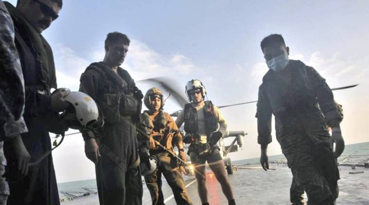body found by malaysian forces, oil tanker and uss john s. mcain collision, uss john s. mcain, world news, indian express news