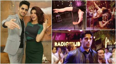 Sidharth Malhotra reveals his thoughts about Jacqueline Fernandez's pole dance: There were lot of visuals. I kept saying one more shot