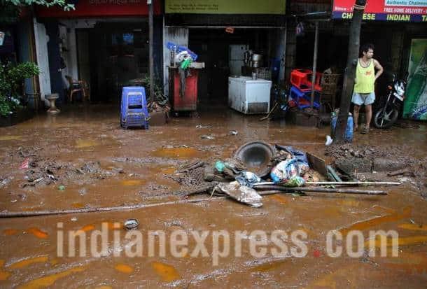 Mumbai, Mumbai rains, Mumbai rains aftermath, Mumbai after rains, Mumbai waterlogging, Maharashtra, Mumbai rains photos, Mumbai rains pictures, Mumbai photos, Indian express photos