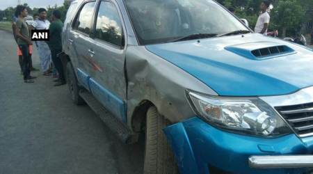 Adhir Chowdhury's car hit by container, West Bengal Pradesh Congress Committee chief unhurt