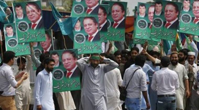 nawaz sharif rally, removal of prime ministers pakistan, removal of prime ministers undemocratic pakistan, nawaz sharrif speech guard mandate pakistan, latest news, indian express news