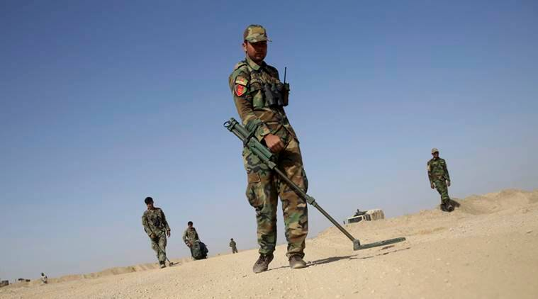 Afghan soldiers killed in 'friendly fire' gunfight, U.S.  air strike