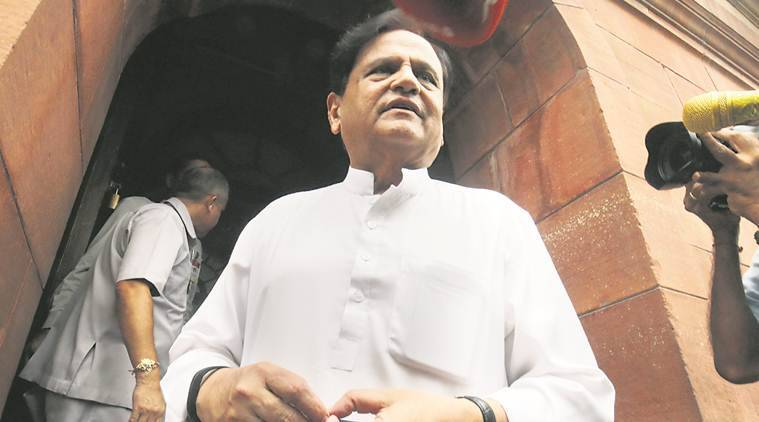 Ahmed Patel, Islamic state, ahmed patel islamic state, ahmed patel ISIS, BJP, Congress, Vijay Rupani, Gujarat Assembly Elections 2017, india news, indian express, indian express news