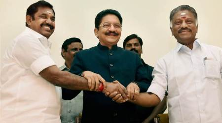 AIADMK merger LIVE updates: OPS takes oath as Deputy CM as both camps unite, 'Sasikala to be expelled'