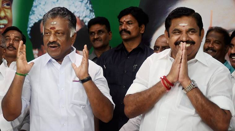 Talks on the merger of AIADMK are going on smoothly