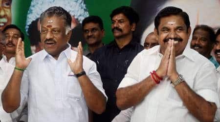 BJP leader calls on Tamil Nadu CM K Palaniswami, Deputy CM OPanneerselvam