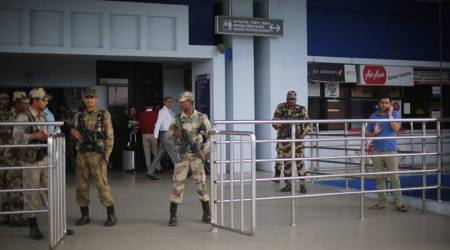 imphal airport, man held with gold bars, cisf official seize gold, gold bars smuggling, imphal custom officials, indian express, manipur news