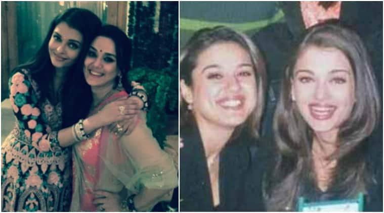 preity zinta, aishwarya rai bachchan, preity zinta aishwarya rai bachchan pics, bollywood friendships, bollywood bffs