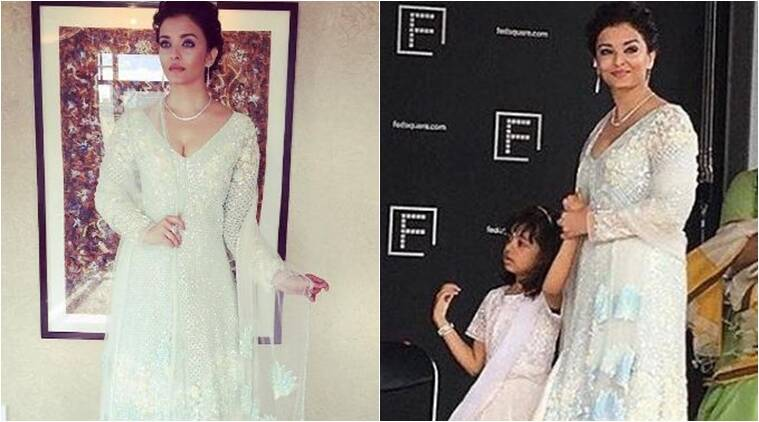 Aishwarya Rai Bachchan, daughter Aaradhya hoist Indian flag at IFFM 2017