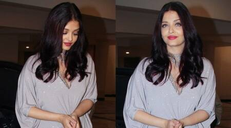 Aishwarya Rai Bachchan's shimmer gown is a beauty but she manages to ruin the look; here's how