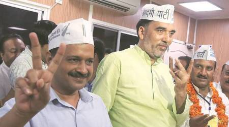 Bruised AAP gets shot in the arm with Bawana win, defector to BJP defeated