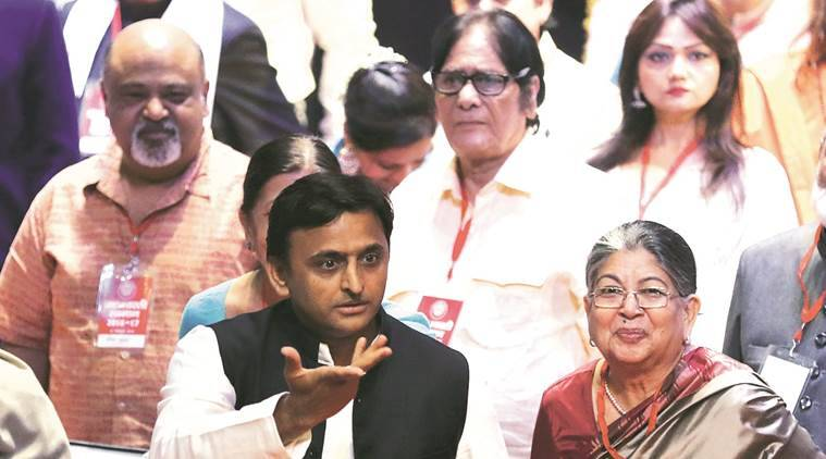 akhilesh yadav, samajwadi party, sp govt, uttar pradesh, up lifetime achievement award, akhilesh cm, indian express