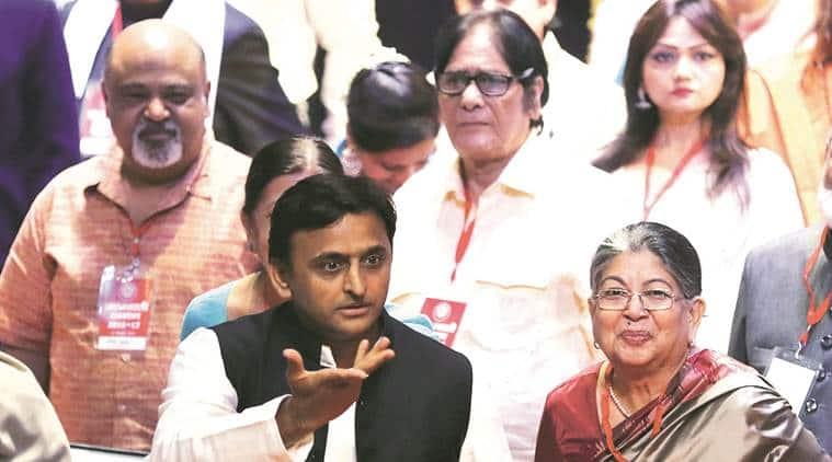 akhilesh yadav, samajwadi party, uttar pradesh, Abdul Hamid, Param Vir Chakra, akhilesh cm, indian express